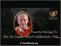 Homage to a Guru - Dr. Francis Vineeth Vadakkethala, CMI