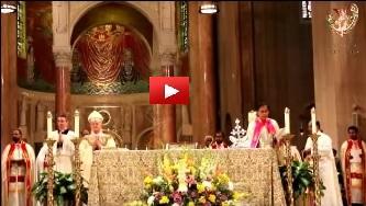 Dr. Joseph J. Palackal sings Marian Bhajan in Sanskrit