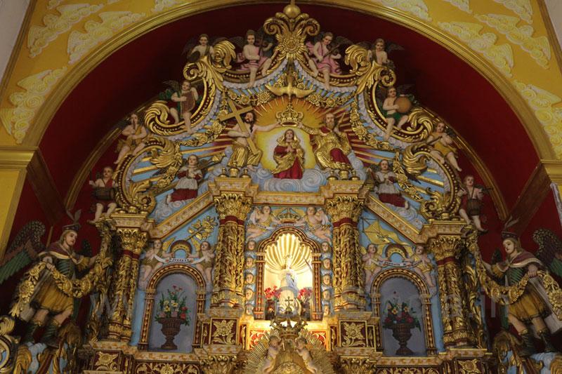 St. Mary's Forane Church, Athirampuzha-Altar